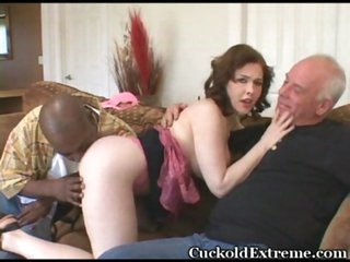 Squeezing busty pale MILF Mae