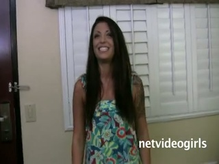 Ashley calendar audition - netvideogirls !