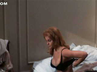 Ann-Margaret Looks Highly Sexy With That Black Lingerie