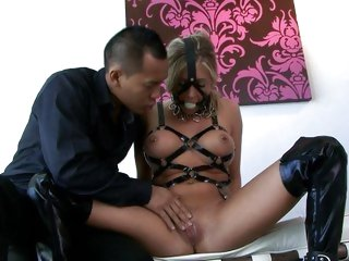 Scorching Samantha Saint has her make water flaps toyed with