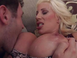 Delightsome Puma Swede gets her impressive rack licked