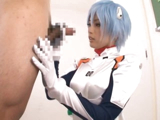 Super Hot Oriental Teen Yuu Namiki Gives Blowjob in Sexy Anime Outfit