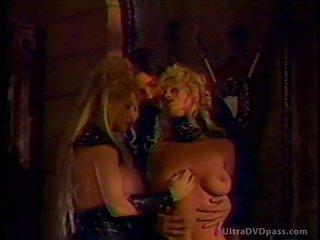 Blonde DD Dominant Disciplines Her Hot Lesbian Sex Slaves
