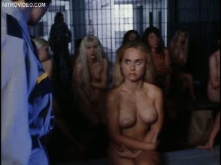 Hot & Naked Gail Harris & Jenna Bodnar In Prison