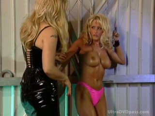 Dominant Couple Abducts and Tortures a Submissive Blonde With Large Knockers
