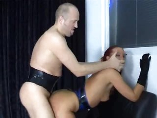 Fetish group sex with pierced cock suck and fuck
