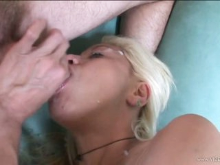 Vicious Blonde MILF Acquires Screwed and Then Swallows Hot Jizz