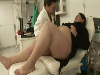 Pregnant BBW Gangbanged By Her Gynaecologist