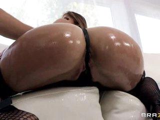 Oily ass action with fuckable sweetheart Felony