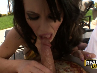 Jenna presley wants to have a slice of cock pizza