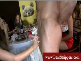 Cfnm wicked and greedy brunettes blowjob