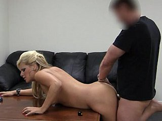 Cum on Sabrina's cum-hole