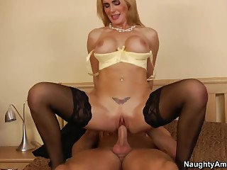 Busty milf Tanya Tate acquires nailed by horny neighbour