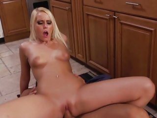 Vanessa Cage bounces her wet pussy on a hard dick