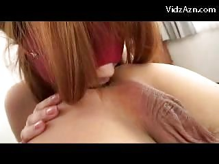 Busty Blindfolded Girl Licking Asshole Getting Licked Fucked On The Bed