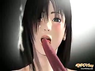 3D Hentai  Space Prision