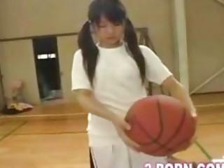 jap schoolgirl basketball practice 01