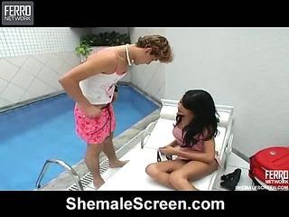 Sasha red hot shemale movie
