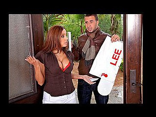 Francesca's acquires a visit from her angry neighbour, Mr.Lee....it appears to be her psychotic son has destroyed his mailbox! As payment for the damage that guy wants to fuck her...that babe assents on the terms that that guy won't report her son's vandalism to the police!