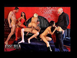 Unwilling to stay buried, Craving Bite has risen from the grave to bring u not ever-previous to-seen footage.  Already bursting at the seams with longing and debauchery,  Brazzers is pleased to give all u daywalkers even more hawt vampire sex in extended versions of the series sex scenes.  Lie drenched in sweat as u lustily watch Diamond Foxxx, Jessica Jaymes and Asa Akira in a fleshly cluster fuck in the extended fuckfest scene of Episode two: Tonight, We Feast.  The sun may have set on this saga, but the bonus features have just begun.