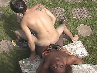 Curvy shemale savoring consummate oral-stimulation previous to booty-fucking a guy like hell
