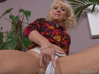 Horny Grannies strip down to no thing and rubbing their clits