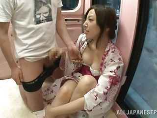 Well this hot piece of Japanese ass is damn cute and she likes a hard cock. Not only this bitch enjoys that dick entering her cunt but she likes a big load of warm jizz dripping out her vagina. Take a look at her pretty face and that satisfied expression as she gets fucked and then filled with spunk