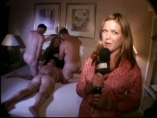 Old people can have a good fuck too, that's what Sexcetera shows us in this interesting episode. Here we have a couple of old farts that are fucking this fat mature bitch. A younger dude and female are there too, enjoying the orgy. Well, maybe those old guys will have a taste of that young sensual pussy.
