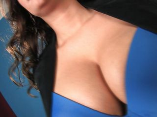 Amber is one of those healthy, busty brunettes that you'll love to put your cock in. She has a pretty face and a beautiful smile but when this hot milf with curly hair undresses and reveals her big natural breasts you really see her in all her glory. Stay with her and delight yourself with what she has to offer.