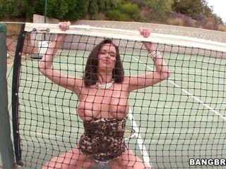 Look at her hard nipples and big boobs she is showing to us. Look at this sexy MILF Veronica Avluv! Showing off her boobs and ass like that, she proves one thing that she is a cock hungry bitch. And when she got one she get her pussy licked first. And then treat the cock with a quality blowjob!