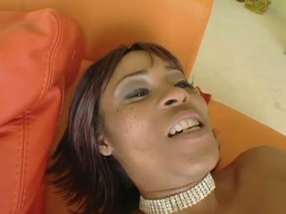 Hot momma plays w/ her clitoris while being fucked in the ass