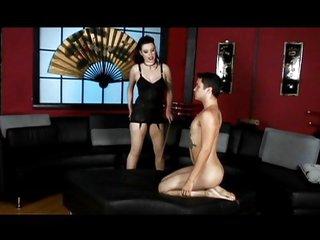 Goddess has a good male maid