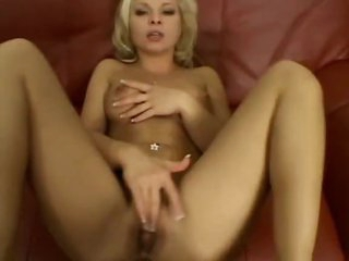 He nails the cute blonde in POV