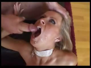 Blonde is a squirter and loves anal sex