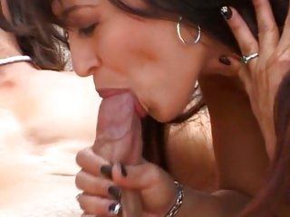 Luscious Mason Storm gets her mouth crammed with cock