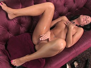 Big Dildo Into India Summer